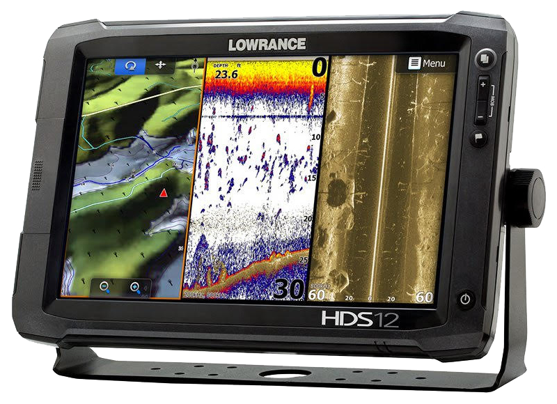 Lowrance HDS 12 with structure scan HR PRG